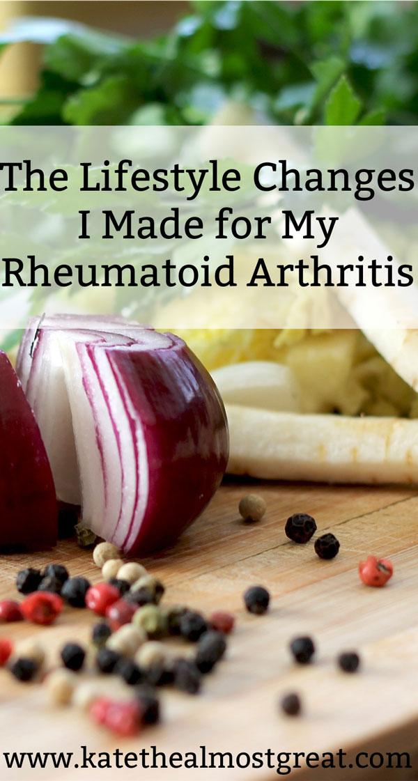 The Lifestyle Changes I Made for Rheumatoid Arthritis Management