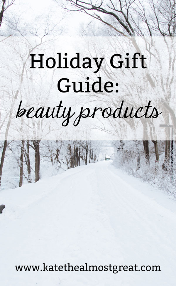 Are you shopping for a makeup lover but don't know enough to buy products yourself? I've got you covered! Here are some great makeup and beauty products for whatever you think they might like!