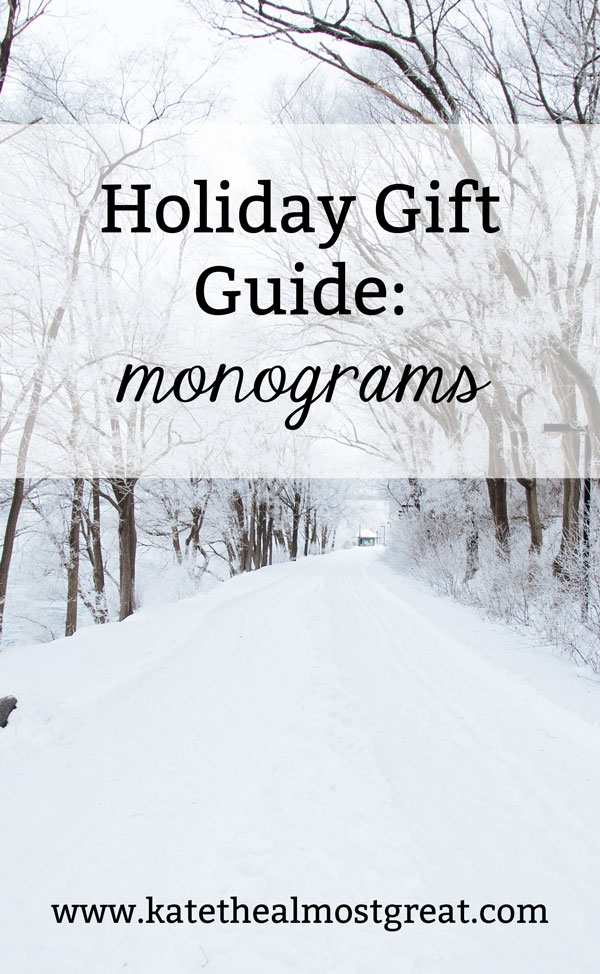 Know someone who loves a good monogram? Check out these monogram and preppy gift ideas, perfect for people of all ages.