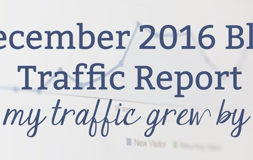 December 2016 Blog Traffic Report