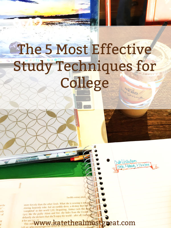 With midterms around the corner, many people are preparing for exams. I'm taking my experience in undergrad and grad school (plus my teaching experience) to help you learn the best study techniques to help you prepare for exams.