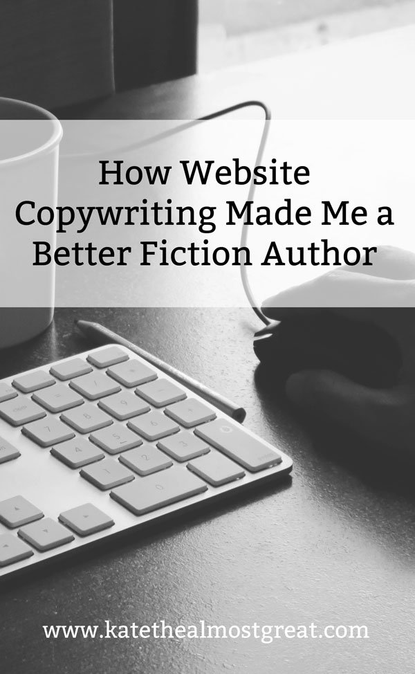 To make some extra money, I started website copywriting. And then it made me a better fiction author. Check out my experience to see if it will help you be a better writer, too, and then learn how to get started.