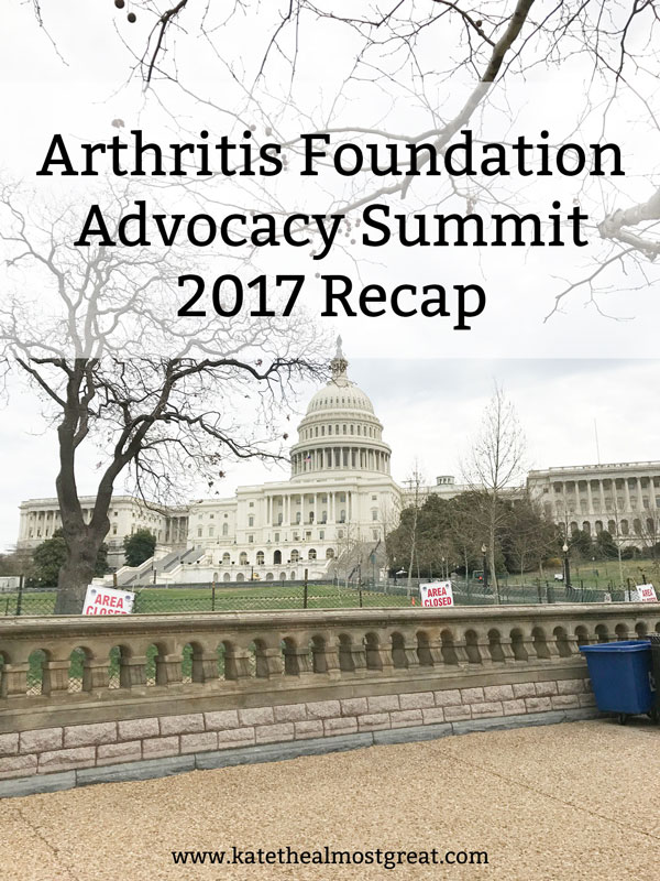 Recapping the 2017 Arthritis Foundation Advocacy Summit