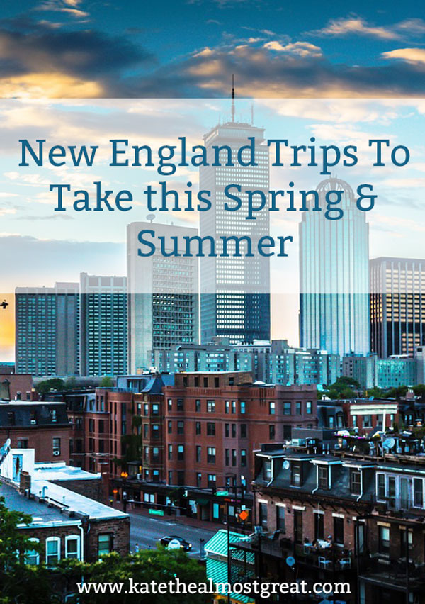 Whether you live in New England or not, there are lots of great New England trips you can take this spring or summer. Here are all the awesome places you can go, as well as things you can do in Boston specifically.