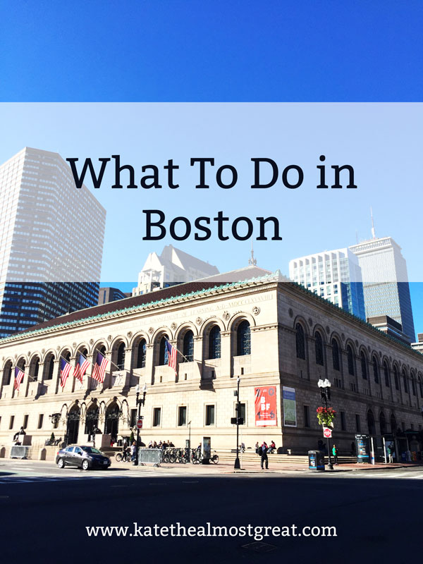 Planning to come to Boston? Here are museums and historical sites to help you plan the best trip to Boston possible.