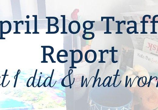 April Website Traffic Report