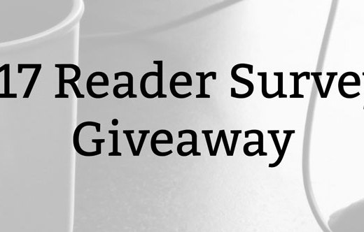 2017 Reader Survey + Giveaway
