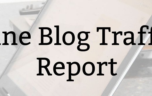 June Blog Traffic Report