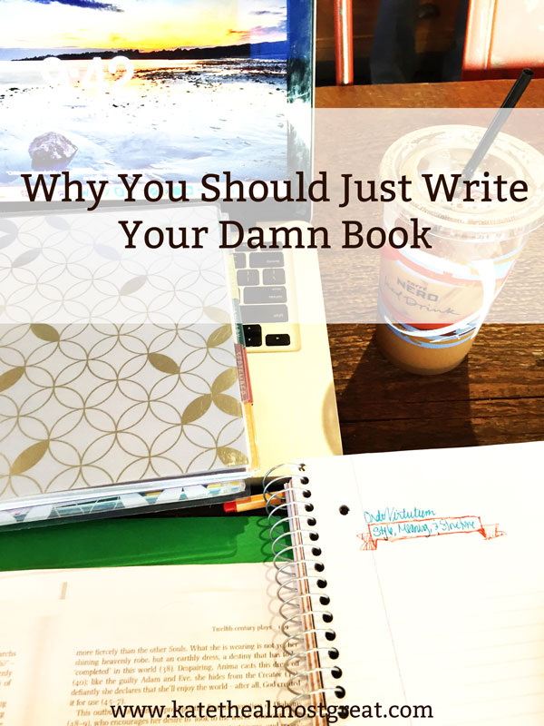 So many people say that they want to write a book, but most of them don't do it. Do you want to be like them? Or do you want to write your book? These are reasons why you should just write that book.