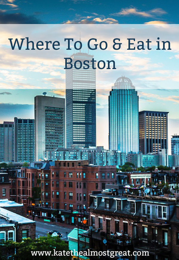 Planning a trip to Boston soon? Want to find some new things to try? Check out this list of neighborhoods to check out, museums to visit, and restaurants and bars to check out.