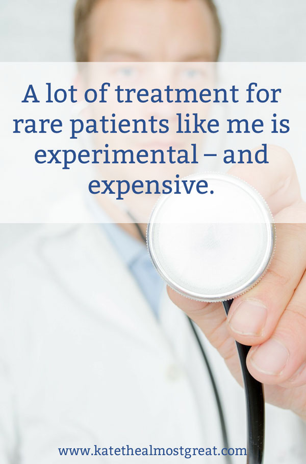 With highly expensive treatment being one of the only options for many rare disease patients, reforming certain elements of the ADA can lead to either spending all of their money on healthcare or dying from their disease.