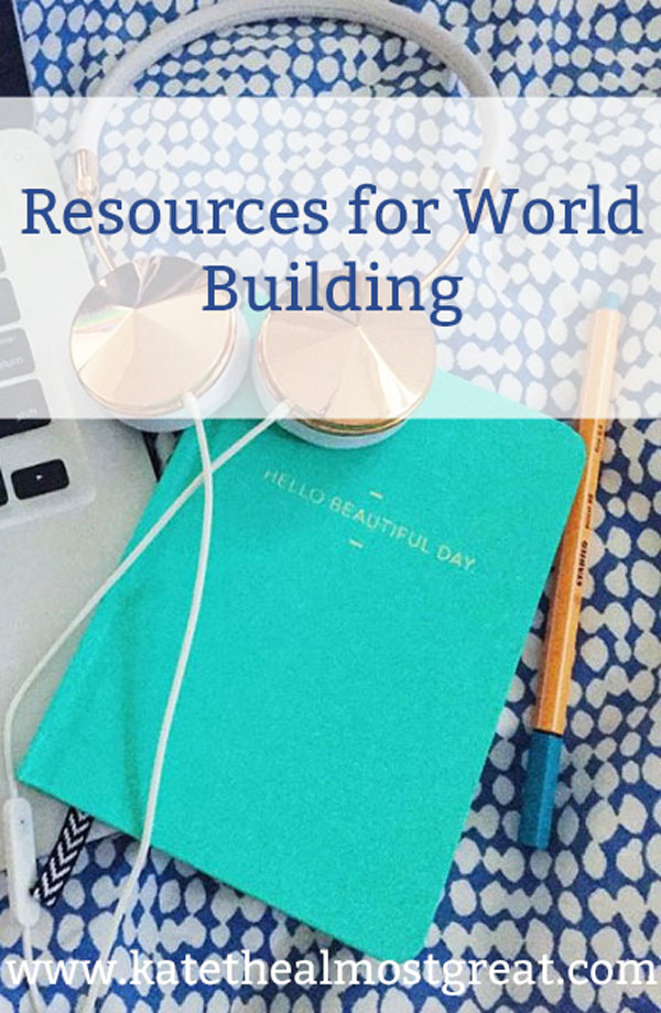 All of the resources you need to world build like a pro.