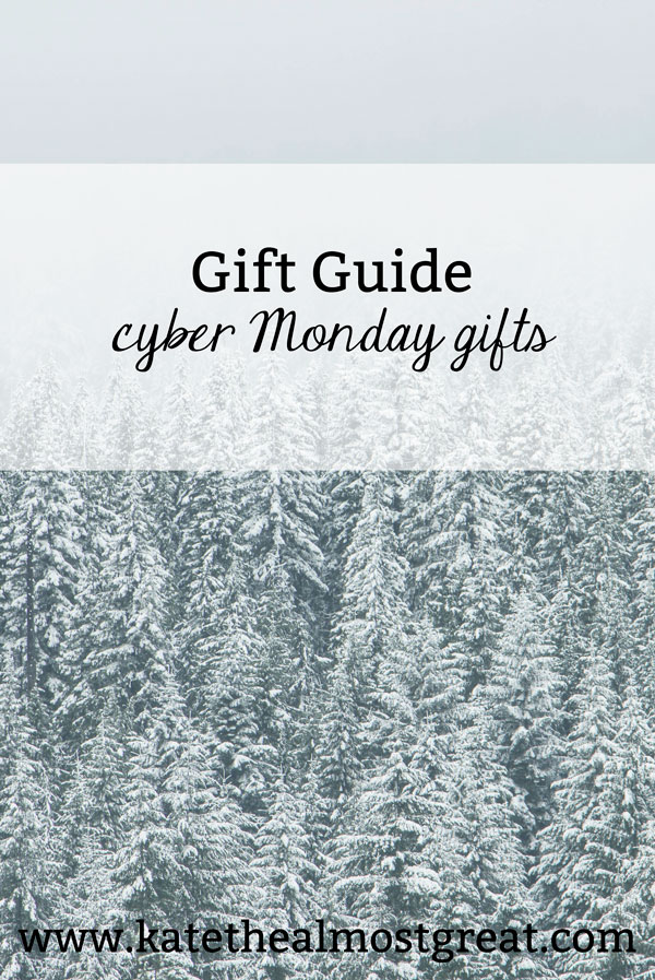 Looking to get amazing deals without dealing with the stores on Black Friday? Check out these Cyber Monday gifts! I've rounded up stores with amazing deals so you can shop them, either for yourself or for other people.