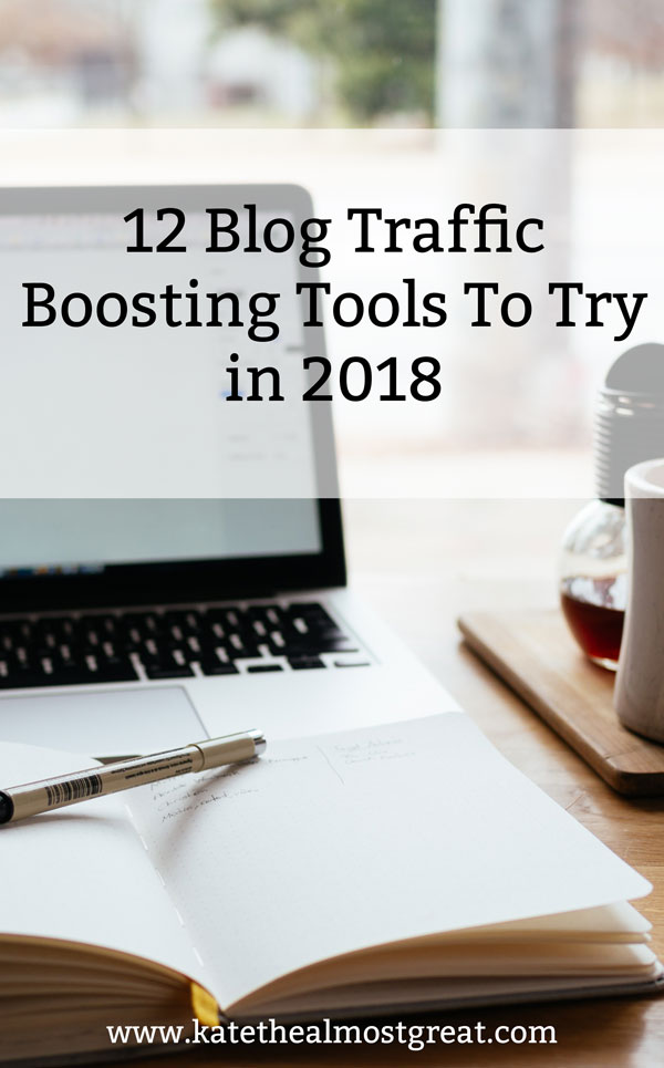 Looking to grow your blog traffic in 2018? I tried 12 tools in 2017 (1 in each month) and I'm sharing what they were, how I used them, if they worked, and more.