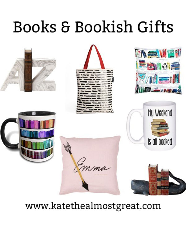 Shopping for a bookworm doesn't mean you HAVE to get them a book. Here are some bookish gifts (aka gifts based around books) that are sure to be successful this holiday season.