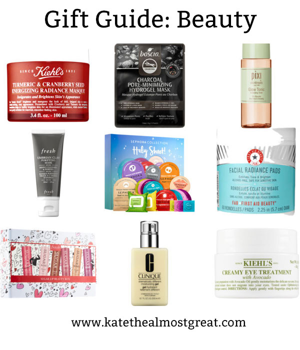 If you're looking for beauty gifts this holiday season, you should look at skincare favorites! These are some awesome skincare products that they'll love.