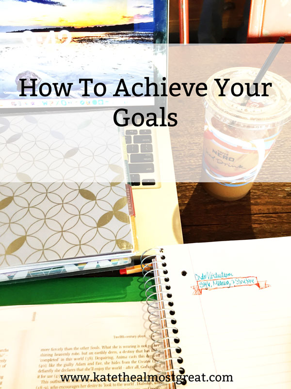 Have some big goals for 2018? So do I! I'm sharing what my 2018 goals are and I've asked a bunch of bloggers to explain what they do to make sure they achieve your goals.