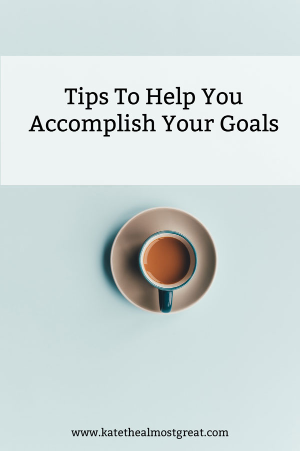 Looking to make some big moves in 2018? Or even some small ones? Here are tips that will help you achieve your goals this year so you can do your best.