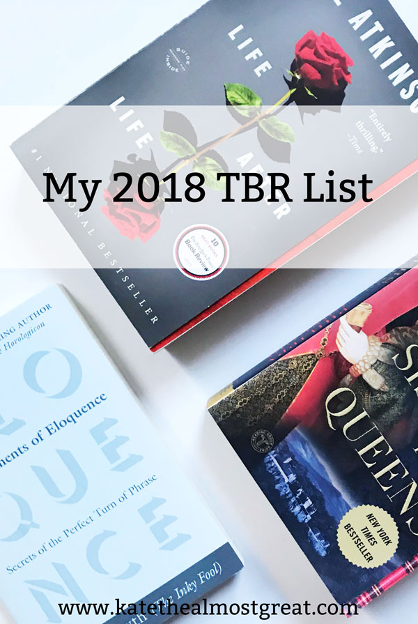 Looking for some ideas of what to read this year? I'm sharing what's on my TBR list this year so hopefully you can find some good reads and can recommend me some good ones, too.