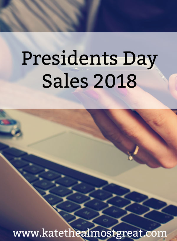 Sharing the best sales from the Presidents Day sales. These sales are currently going on so be sure to snag these items while you can!