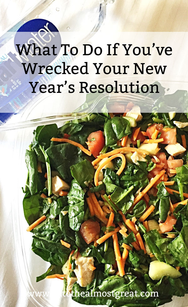 If you're like most people, you've broken your New Year's resolution by now. But never fear! There's plenty of time to try again and still complete it by the end of the year. Here's how to do it.