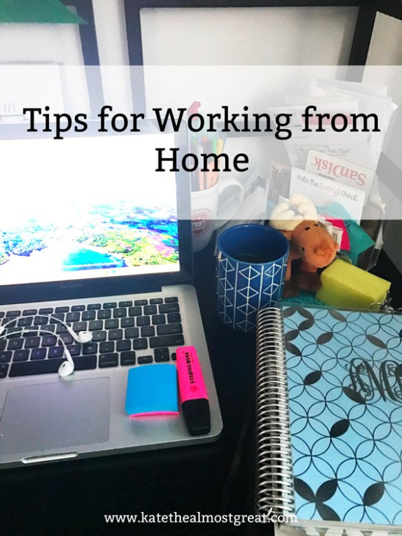 Sharing the things I do and have to make working from home as productive an experience as possible.