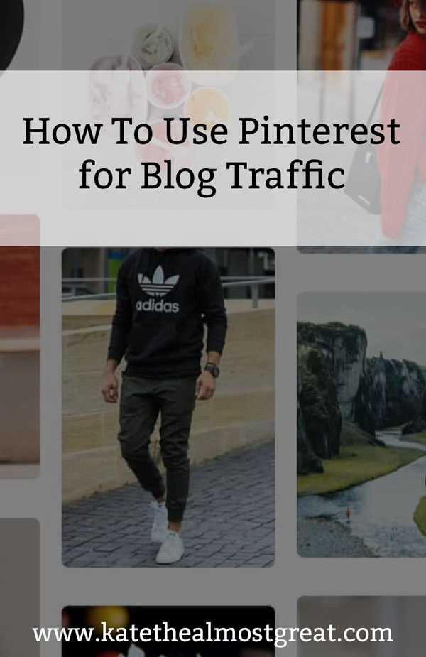 You've heard that Pinterest can grow your blog traffic. But how, exactly? I'm breaking down how to use Pinterest for blog traffic, as over 65% of my blog traffic comes from Pinterest.