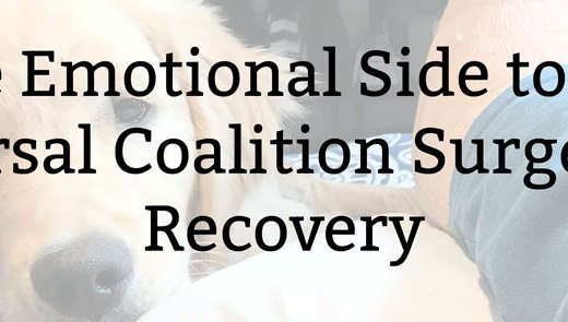 The Emotional Side to My Tarsal Coalition Surgery Recovery