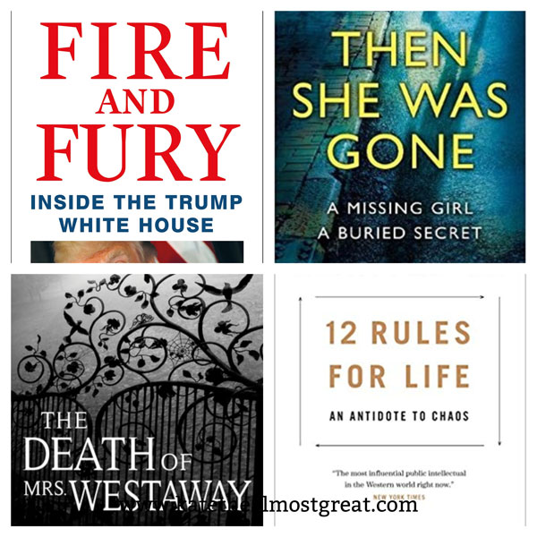most popular books published in 2018, most popular books of 2018, fire and fire, politics, nonfiction, fiction, self-help, self help, books to read, book recommendations, what to read