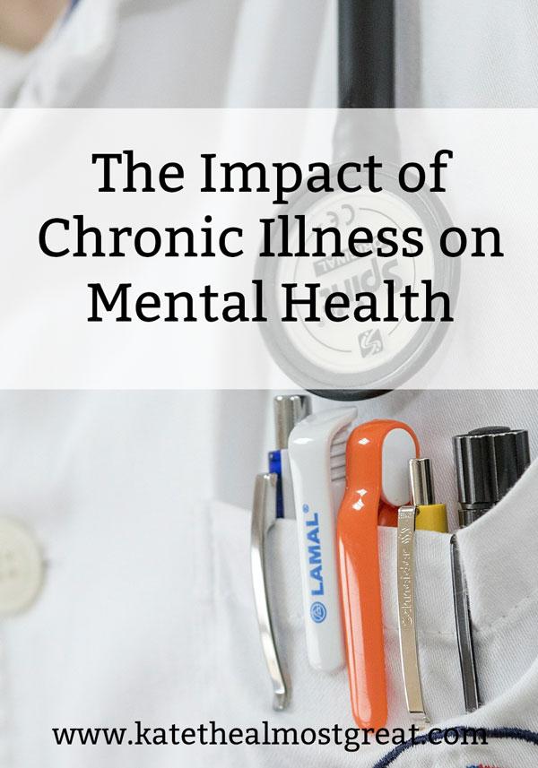 chronic illness and mental health, chronic illness, chronic pain, impact of chronic pain, mental illness, cost of chronic illness