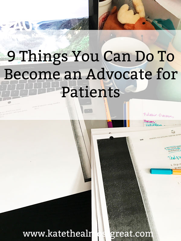 How to become an advocate for patients, patient advocacy, how to be an advocate, politics, chronic illness, chronic pain
