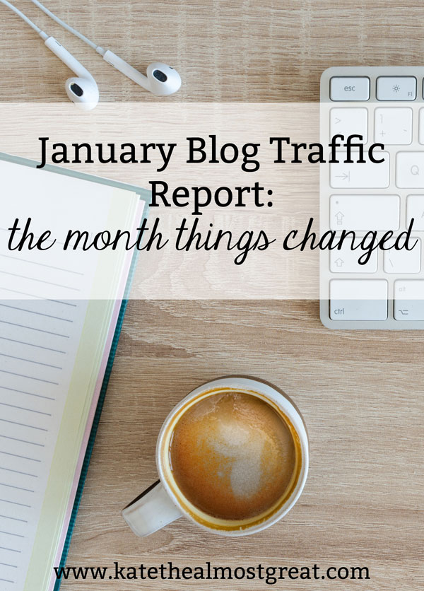 This month, Boston blogger Kate the (Almost) Great discovered that Google Analytics might not be as accurate as everyone assumes it is. Here's what she did to grow her traffic in January, as well as the differences in data.