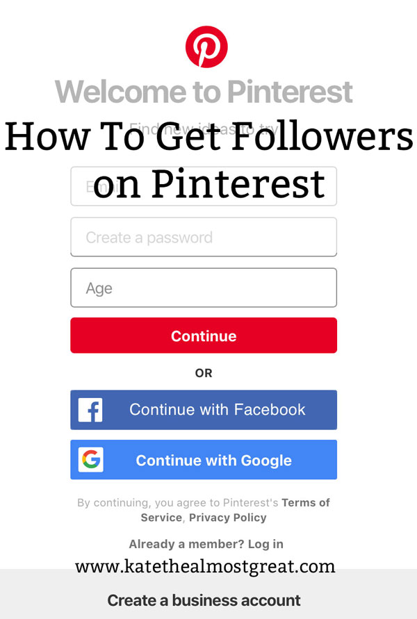 Boston lifestyle blogger Kate the (Almost) Great shares how to get followers on Pinterest, perfect for bloggers and non-bloggers alike.