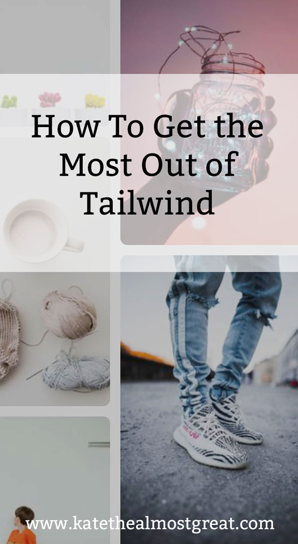 Tailwind is a great tool for bloggers, but it can do more than just schedule your pins. In this post about using Tailwind, Boston lifestyle blogger Kate the (Almost) Great shares her tips for how to get the most out of Tailwind.