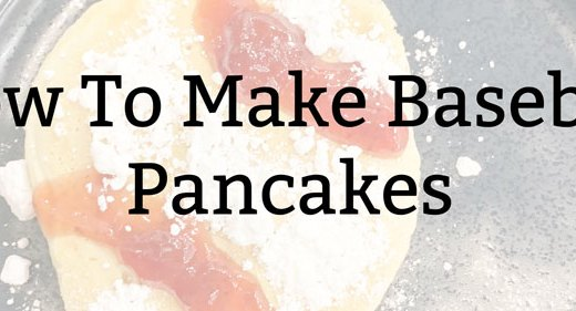 How To Make Baseball Pancakes
