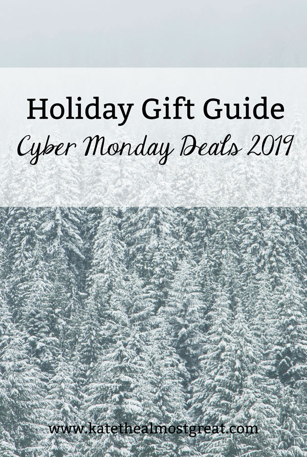 Whether you're doing your holiday shopping or you just love a good deal, Cyber Monday is a big deal. In this post, Boston lifestyle blogger Kate the (Almost) Great shares the best Cyber Monday deals 2019.