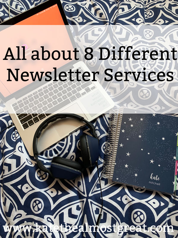 email newsletter, email marketing, best email marketing provider, best email newsletter provider, what email marketing service is right for me, blogging, blog, blogging advice, blog advice, email newsletter for your blog