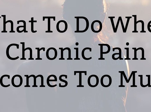 What To Do When Chronic Pain Becomes Too Much | Kate the (Almost) Great