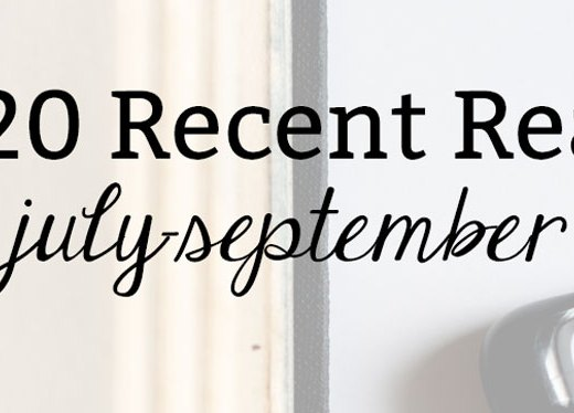 2020 Recent Reads: July-September