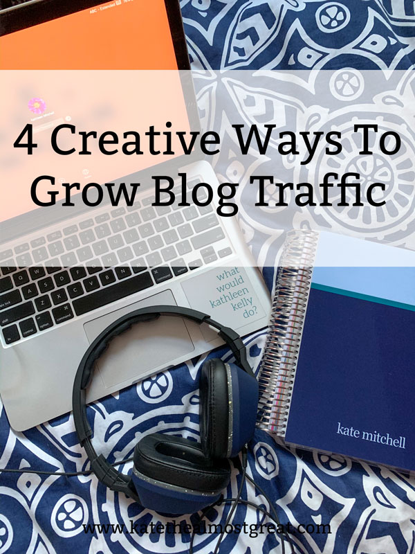 In this day and age, it can be difficult to get your blog noticed. In this post, a long-time blogger shares creative ways to grow your blog traffic that she used to grow her blog traffic in September 2020.