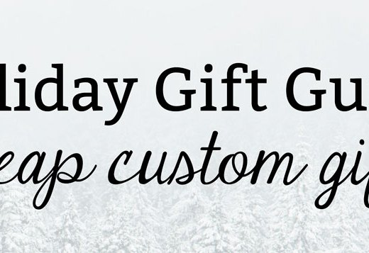 Cheap Custom Gifts | Kate the (Almost) Great, Health Lifestyle Blog