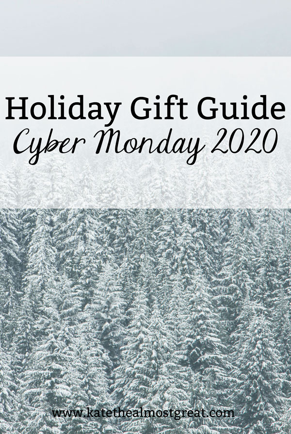 Are you ready for holiday shopping? In this gift guide, I'm sharing the gifts to buy on Cyber Monday 2020 and the days leading up to it.