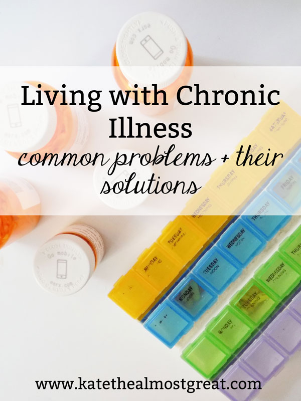 Living life with chronic illness can be tricky for a variety of reasons. In this blog post, I'm addressing common problems that I've come across as a chronic illness patient, as well as the solutions to those problems.