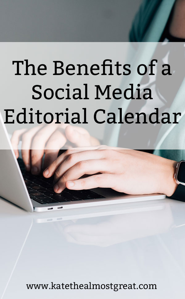For years, I very intentionally planned my social media content along with my blog content. But 2 years ago, I stopped. I had too much going on! In October 2020, I started doing that again. In this post, I'm sharing why I'm glad I did that, and the benefits to a social media editorial calendar.