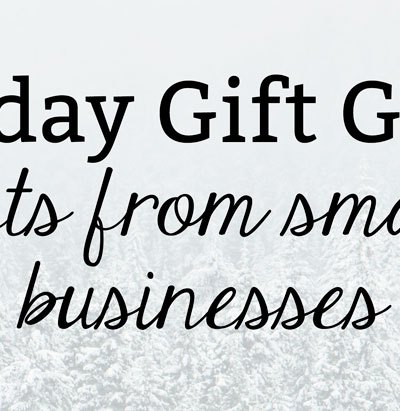 Small Business Gift Guide | Health Lifestyle Blog, Kate the (Almost) Great