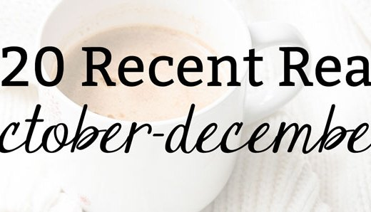 2020 Recent Reads: October-December