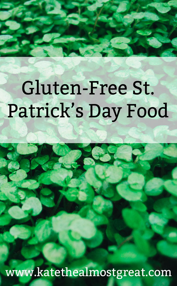 St. Patrick's Day food is great, but it's not very accessible for people who can't eat gluten. In this post, I'm sharing nearly 30 recipes for gluten-free St. Patricks' Day food.