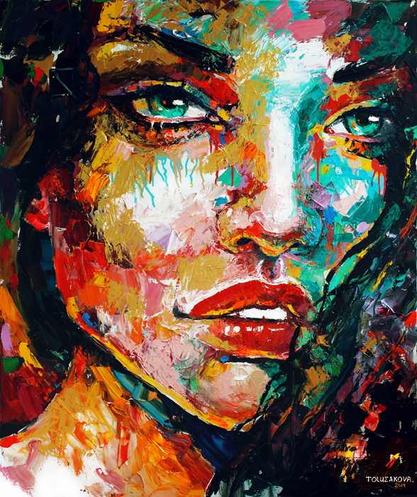 art, artwork, painting, woman portrait, eye, large brush strokes, palette knife, original, oil, realistic, impressionistic, painting for sale, sold, fine art, buy a painting, wall art, gift, christmas, artist, painting art, portrait artist, portrait, contemporary painting, painting gallery, custom art, custom paintings, usa, america, american art, blue, Kate Tova artist, canvas, christmas gift, anniversary, new year, birthday present, unique, exclusive, expensive, luxurious, living room, guestroom, Kate Tova, wedding gift, Valentines day gift, hand painted, art for dining room, guest room, living room, bedroom, canvas print, print, painting on canvas