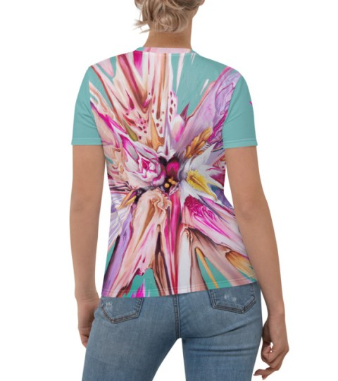 "Women's T-shirt ""Spring Glitch"""
