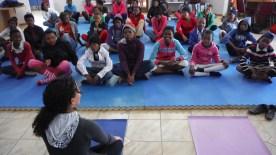 Shila's Yoga Session